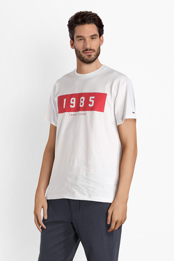 Tee-shirt TOMMY JEANS 04537 Blanc