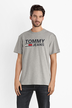 Tee-shirt TOMMY JEANS 04837 Gris clair