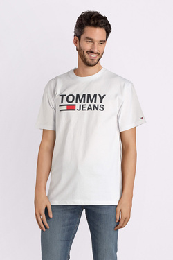 Tee-shirt TOMMY JEANS 04837 Blanc