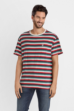 Tee-shirt TOMMY JEANS 04571 Rouge