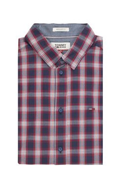 Chemise manches longues TOMMY JEANS 04493 Bleu marine