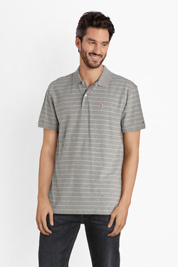 Polo TOMMY JEANS 04514 Gris clair