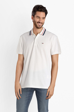 Polo TOMMY JEANS 04515 Blanc