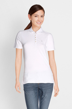 Polo TOMMY JEANS 04434 Blanc