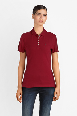 Polo TOMMY JEANS DW0DW04513 Rouge