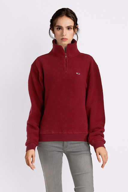 super cheap delicate colors wholesale online Sweat-shirt en molleton polaire TOMMY JEANS