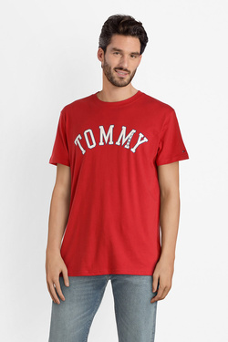 Tee-shirt TOMMY JEANS DM0DM05110 Rouge