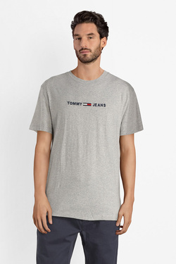 Tee-shirt TOMMY JEANS DM0DM05125 Gris clair