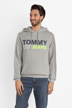 Sweat-shirt TOMMY JEANS DM0DM05539 Gris