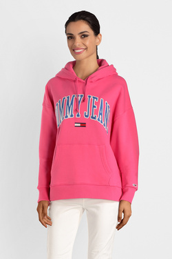 Sweat-shirt TOMMY JEANS DW0DW06006 Rose fuchsia