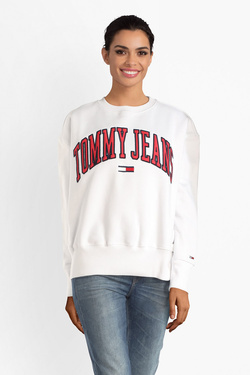 Sweat-shirt TOMMY JEANS DW0DW06050 Blanc