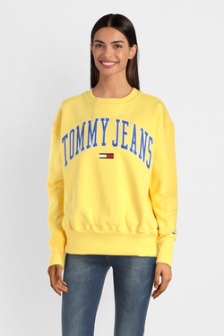 Sweat-shirt TOMMY JEANS DW0DW06050 Jaune