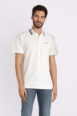 Polo TOMMY JEANS DM0DM05509 Blanc