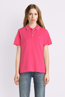 Polo TOMMY JEANS DW0DW05933 Rose fuchsia