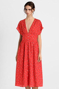 Robe TOMMY JEANS 06727 Rouge