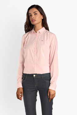 Chemise manches longues TOMMY JEANS 04707 Rose pale