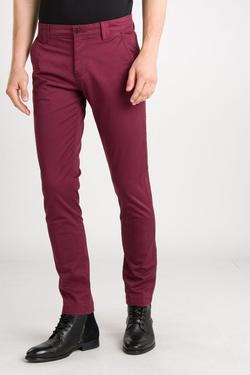 Pantalon TOMMY JEANS 06518 Rouge