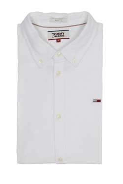 Chemise manches longues TOMMY JEANS 06562 Blanc