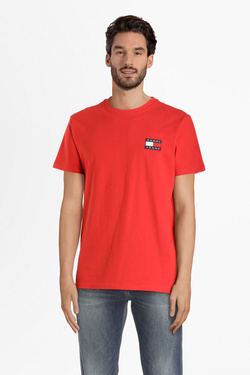 Tee-shirt TOMMY JEANS 06595 Rouge