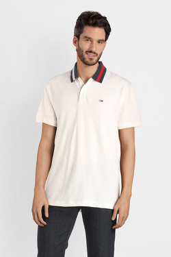 Polo TOMMY JEANS 06576 Blanc