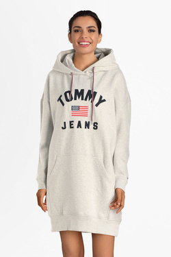 Robe TOMMY JEANS 07233 Gris clair