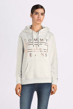 Sweat-shirt TOMMY JEANS 07122 Gris clair