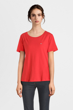 Tee-shirt TOMMY JEANS 06901 Rouge