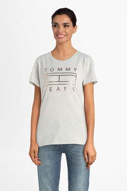 Tee-shirt TOMMY JEANS 07158 Gris clair