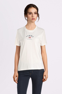 Tee-shirt TOMMY JEANS 07164 Blanc