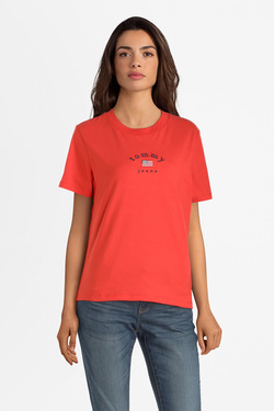 Tee-shirt TOMMY JEANS 07164 Rouge