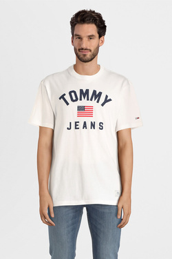 Tee-shirt TOMMY JEANS 07068 Blanc