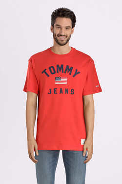 Tee-shirt TOMMY JEANS 07068 Orange
