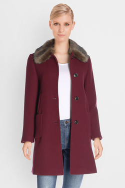 Manteau TRENCH AND COAT BLAVIO1 Rouge bordeaux