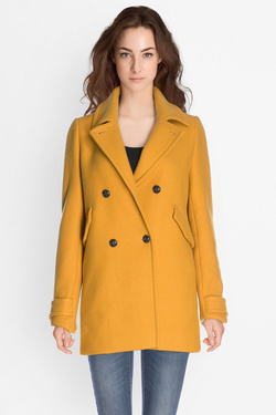 Manteau TRENCH AND COAT VALISE Jaune moutarde