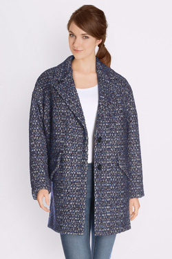 Manteau TRENCH AND COAT BRILLANT 2 Bleu marine