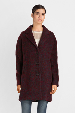 Manteau TRENCH AND COAT MV82ATTTTB BOUTCH Rouge bordeaux