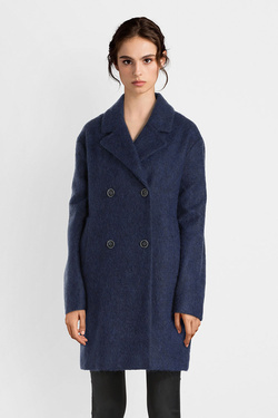 Manteau TRENCH AND COAT MW55ATTKXA  BRODI Bleu marine