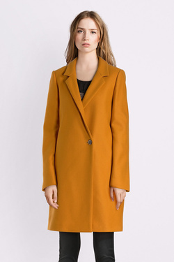 Manteau TRENCH AND COAT MK95NTTRLF ACAT 13 Jaune moutarde