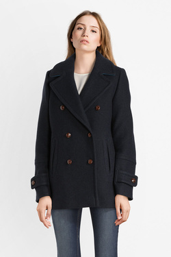 Manteau TRENCH AND COAT MW75ATTRAI  BOBIN Bleu marine