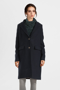 Manteau TRENCH AND COAT MW56ATTRAI  BORANE Bleu marine