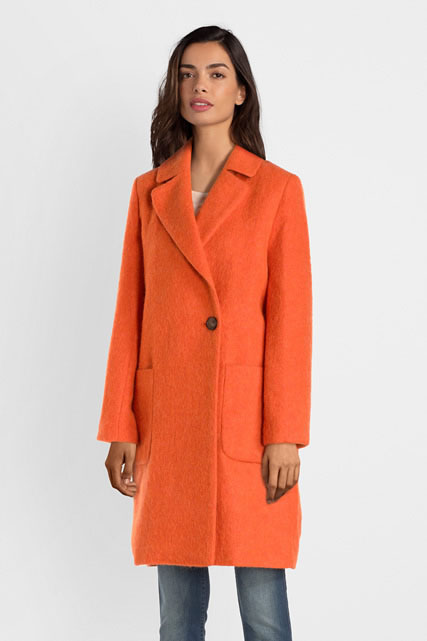 mélangée COAT Manteau TRENCH en AND laine rCEQodxWBe