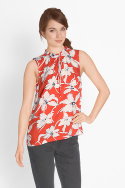 Blouse VERO MODA 10193250 VM JULY SL Orange