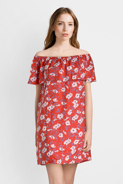 Robe VERO MODA 10198770 VMMOLLY Rouge