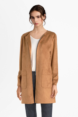 Veste VERO MODA 10207672 VMCLAIR Marron