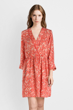 Robe VERO MODA 10210603VMMARY Orange