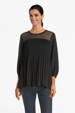 Tunique VERO MODA 10221589 VMFLOWER Noir