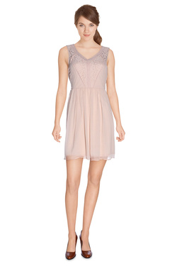 VERO MODA Robe legere rose pale NOOS10149617