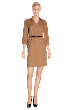 VERO MODA - Robe10149980Marron clair