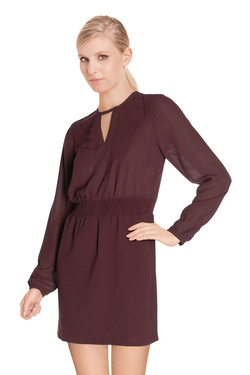 Robe VERO MODA 10161363 Rouge bordeaux