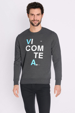 Sweat-shirt VICOMTE ARTHUR SWEATHVA_PAW17_03 Gris